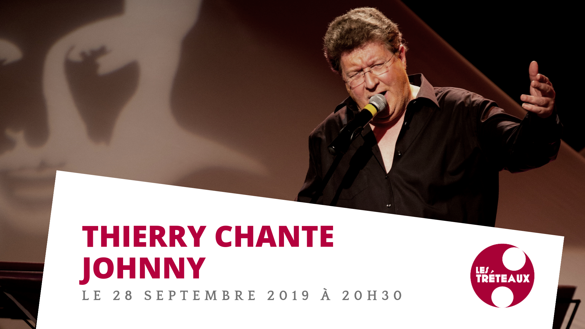 Thierry Luthers chante et raconte Johnny